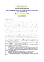 BUS 311 Week 5 Quiz /uophelp