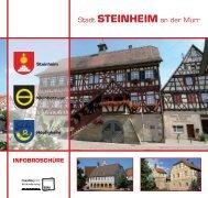 Broschüre - Stadt Steinheim an der Murr
