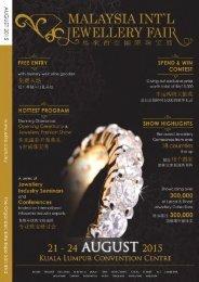 M'sia International Jewellery Fair (MIJF) 2015 - E-Fair Directory