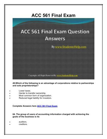 uop qnt 351 final exam answers