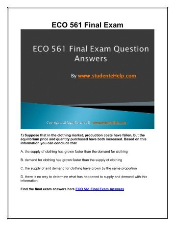 eco 372 term definition paper