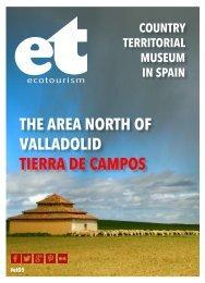 Ecotourism 05. The Area North of Valladolid in Spain. Tierra de Campos