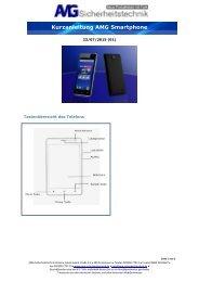 Kurzanleitung AMG Smartphone