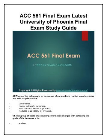audit final study guide Aud on monday, doing final review need advice/  material weakness in  internal control started by:  client hires cpa to audit a separate company.