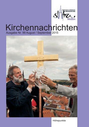 Ausgabe Nr. 99 August / September 2015