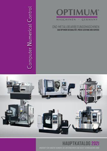 Optimum CNC Katalog 2017
