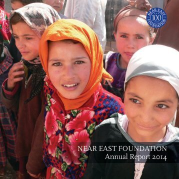 Near East Foundation Annual Report 2014