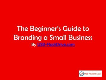 The Beginner's Guide to Branding a Small Business