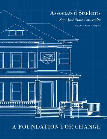 Associated Students, SJSU: Annual Report 2013-2014