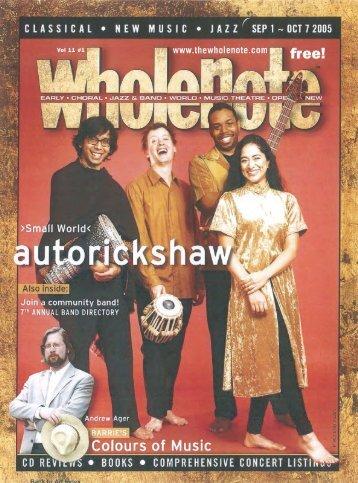 Volume 11 Issue 1 - September 2005