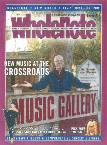 Volume 11 Issue 3 - November 2005