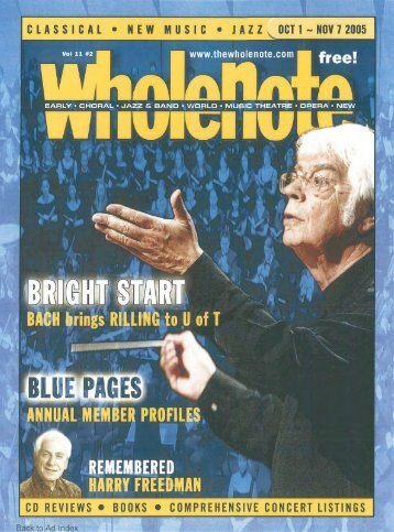 Volume 11 Issue 2 - October 2005