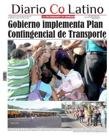 Edición 27 de Julio de 2015