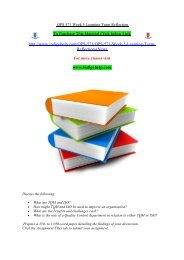 OPS 571 Week 5 Learning Team Reflection/indigohelp