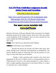 CJA 374 Week 4 Individual Assignment-cja374dotcom