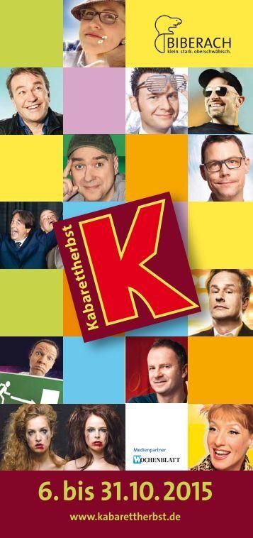 Kabarettherbst 2015