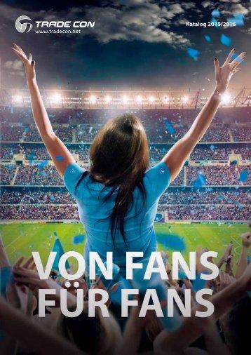 Trade Con GmbH Fanartikel-Katalog 2015/2016