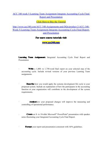 ACC 490 Week 2 Learning Team Assignment Auditing, Attestation, and Assurance Services Paper