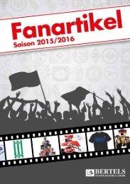 Bertels Fanartikel Katalog 2015-2016