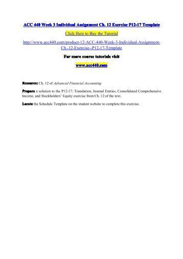 Acc 547 Problem Set Week 5 College Paper Sample