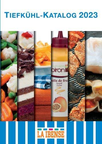 Preisliste Tiefkühlprodukte 2018 - La Ibense
