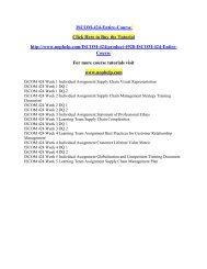 ISCOM-424-Entire-Course /UOPHELP