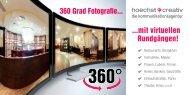 360 Grad Fotografie... ...mit virtuellen Rundgängen!