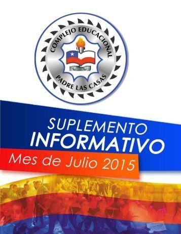 Suplemento Informativo Julio 2015 ceplc