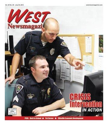 West Newsmagazine 7/29/15