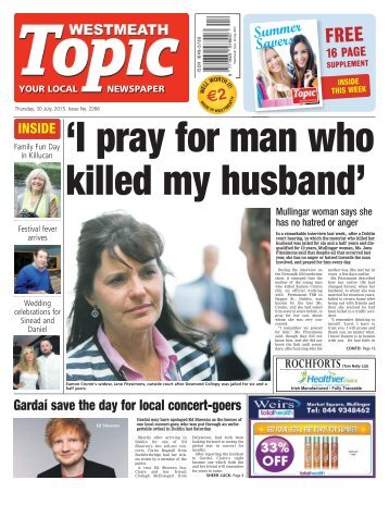 Westmeath Topic- 30 July 2015