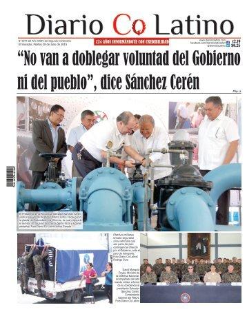 Edición 28 de Julio de 2015