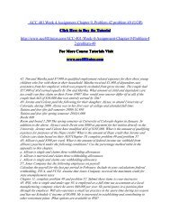 ACC 401 Week 4 Assignment Chapter 9/ acc401tutordotcom