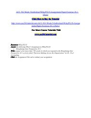 ACC 561 Week 5 Individual WileyPLUS Assignment Paper Exercise 18-1/ acc561tutorialdotcom