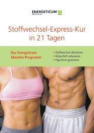 Energeticum - Stoffwechsel-Express-Kur in 21 Tagen