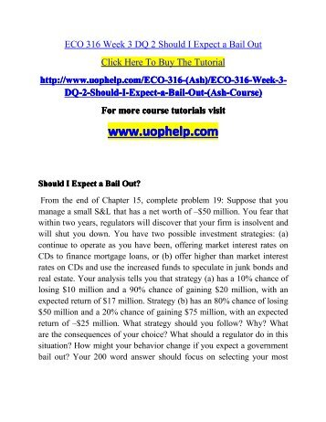 eco 316 week 2 dq 1 Eco 550 week 2 dq new economies of scale and scope describe activities in your organization or other organizations that result in economies of scale and e.