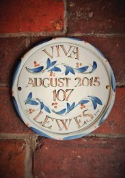 Viva Lewes Issue #107 August 2015