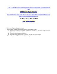 OPS 571 Week 5 Individual Assignment Project Management Recommendation (New).pdf