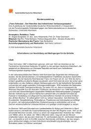 Franz Schnabel – Der Historiker des freiheitlichen Verfassungsstaates