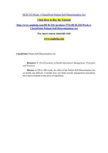 HCR 210 ASH Tutorial / hcr210dotcom Essay