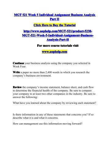 week 1 cpmgt301 individual assignment