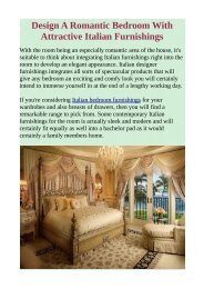 Design A Romantic Bedroom With Attractive Italian Furnishings.pdf