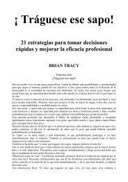 Traguese ese sapo - Brian Tracy.pdf