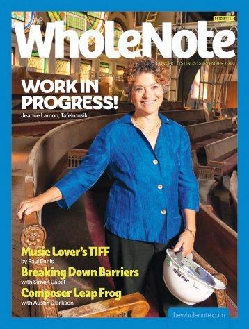 Volume 19 Issue 1 - September 2013