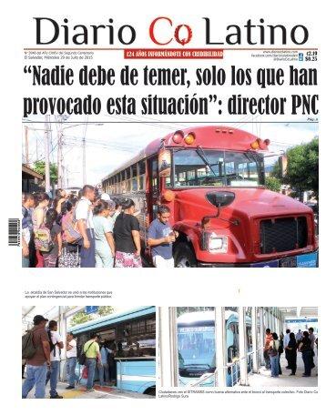 Edición 29 de Julio de 2015