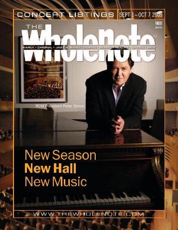 Volume 15 Issue 1 - September 2009