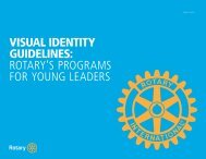 Visual Identity Guidelines for Young Leaders