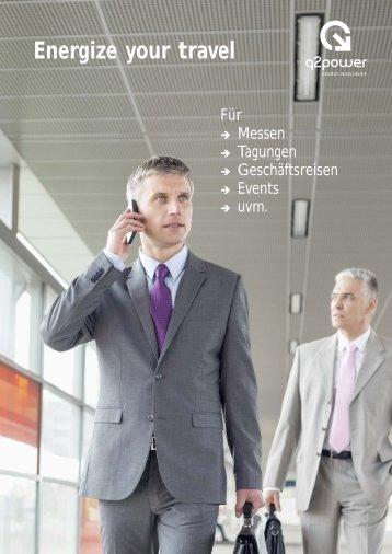 Q2 Power Reiseadapter für Messen · Tagungen · Geschäftsreisen · Events