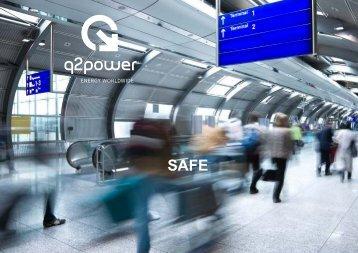 Q2 Power Reise und Netzadapter Sicherheit