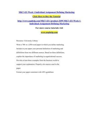 mkt 421 blue ocean strategy paper
