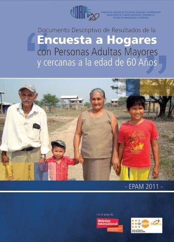 Encuesta a Hogares - Unidad de Análisis de Políticas Sociales y ...